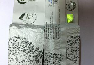 Trà xanh hữu cơ hút chân không - Cao Bo Organic Tea