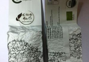 Trà Phổ Nhĩ hữu cơ 100g hút chân không - Cao Bo Organic Tea